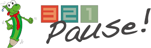 321 Pause! Logo